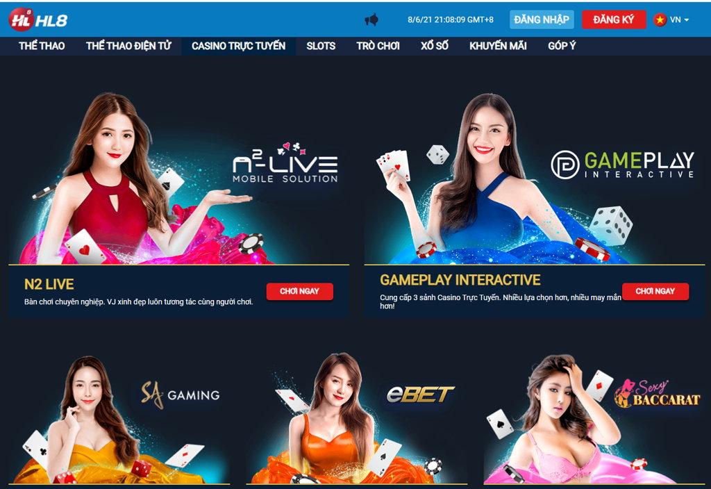Giới thiệu về nhà cái Casino và sòng bạc trực tuyến HL8