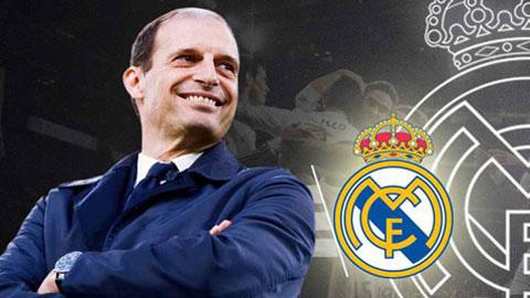 Real đề nghị Allegri hợp đồng 2 năm, lương 10 triệu euro/mùa