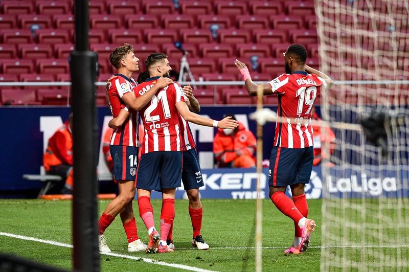 Atletico nắm quyền tự quyết cho cuộc đua vô địch La Liga