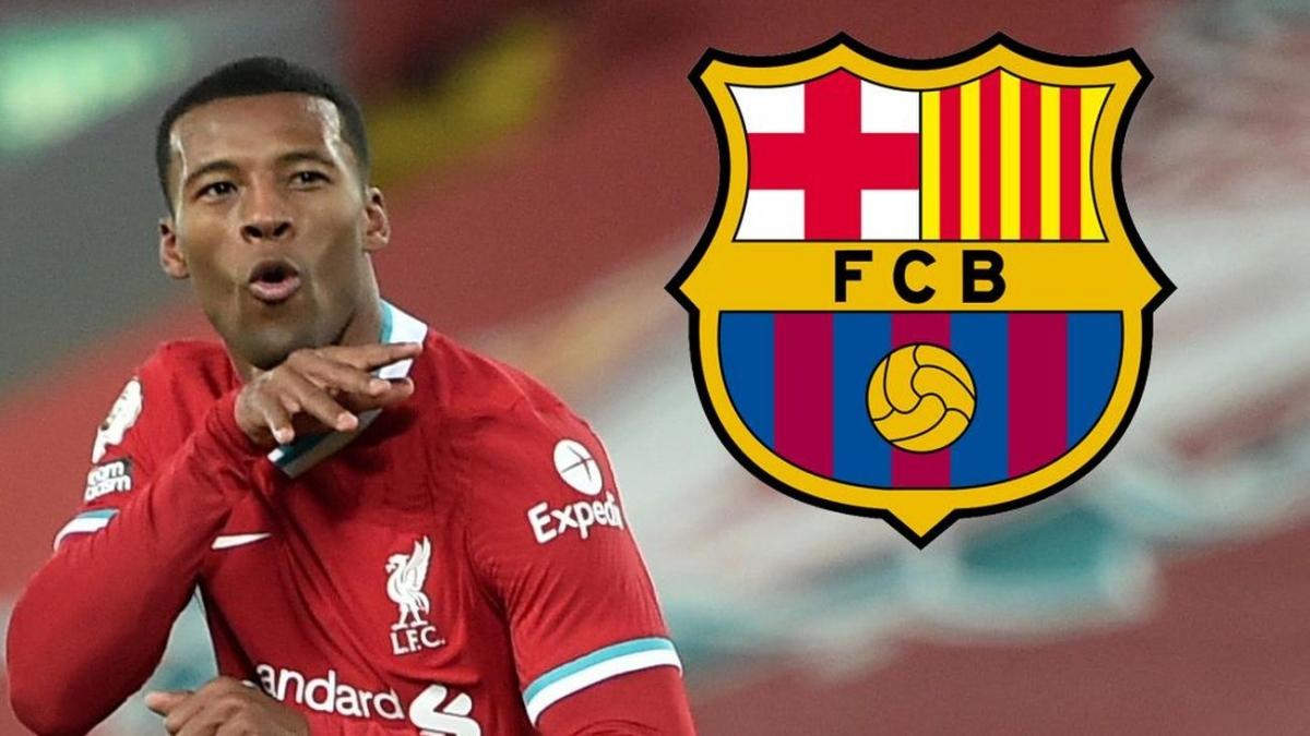 Wijnaldum trở mặt với Barca