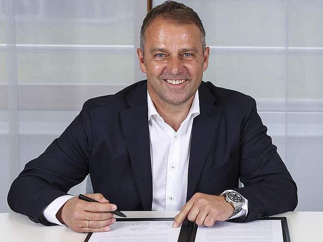 Hansi Flick chính thức trở thành HLV trưởng đội tuyển Đức