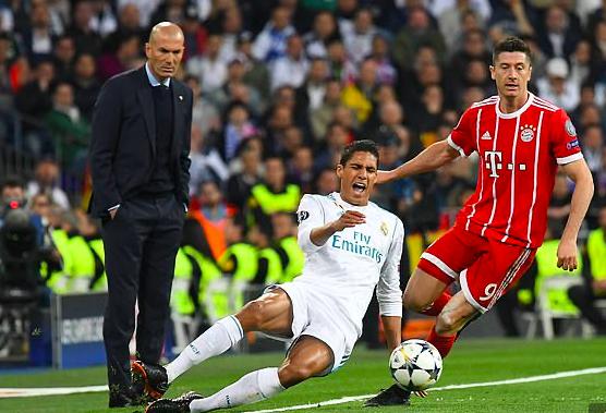 Zidane kéo theo Varane sang Juventus