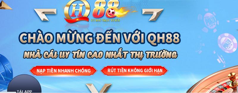 Tổng quan nhà cái QH88 – Nhà cái hàng đầu Việt Nam hiện nay