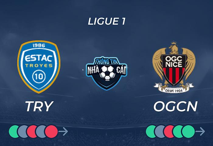 Estac Troyes vs OGC Nice – Soi kèo bóng đá 18h00 17/10/2021: Tân binh thất thủ